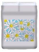 Daisies Daisies Duvet Cover
