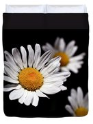 Daisies Duvet Cover by Rona Black
