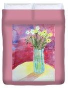 Daisy Bouquet Duvet Cover