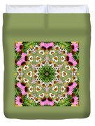 Daisy Daisy Do Kaleidoscope Duvet Cover
