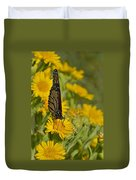 Daisy Daisy Give Me Your Anther Do Duvet Cover