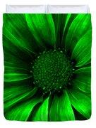 Daisy Daisy Neon Green Duvet Cover