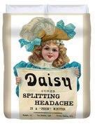 Daisy Headache Cure Duvet Cover