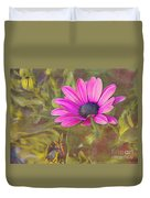 Daisy In Pink Duvet Cover