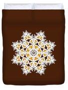 Daisy Mandala  12t Duvet Cover
