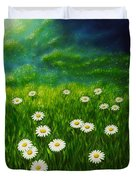 Daisy Meadow Duvet Cover