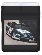 Dale Earnhardt At Bristol Duvet Cover