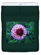 Dalhias At The Gorge White House In Hood River Oregon Duvet Cover