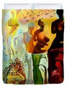 Dali Oil Painting Reproduction - The Hallucinogenic Toreador Duvet Cover