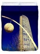 Dallas Museum Tower Duvet Cover