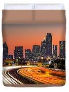 Dallas Sunrise Duvet Cover