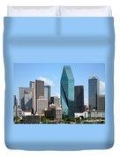 Dallas Texas Duvet Cover