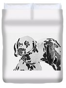 Dalmatians - A Great Breed For The Right Family Duvet Cover