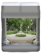 Daly Mansion Entrance - Montana Duvet Cover