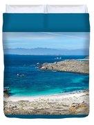 Damas Island Beach Duvet Cover