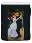 Dance At Bougival Renoir Duvet Cover