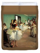 Dance Examination Duvet Cover by Edgar Degas