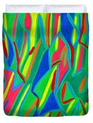 Dance Of Colors Duvet Cover