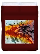 Dance Of Colours  Duvet Cover