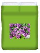 Dance Of Flowers Duvet Cover