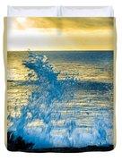 Dance Of The Crashing Wave Duvet Cover