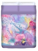 Dance Of The Dragonfly Duvet Cover