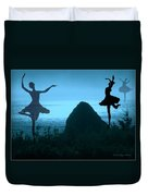 Dance Of The Sea Duvet Cover