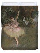 Dancer Taking A Bow  Duvet Cover
