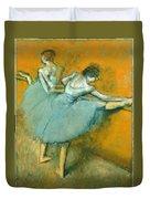 Dancers At The Barre Duvet Cover