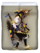 Pow Wow Dancing For The Spirit Duvet Cover