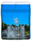 Dancing Fountain Duvet Cover