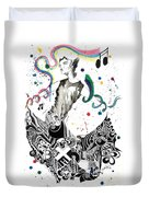 Dancing In Berlin Duvet Cover by Oddball Art Co by Lizzy Love