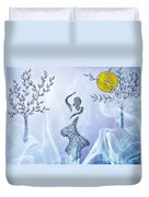 Dancing In The Moonlight Duvet Cover
