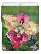 Dancing Orchid I Duvet Cover
