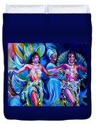 Dancing Panama Duvet Cover