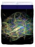 Dancing Ribbons 24 Duvet Cover