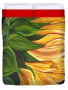 Dancing Sunflower Duvet Cover