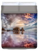 Dancing Sunset Duvet Cover