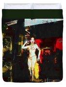 Dancing The Night Away  Duvet Cover