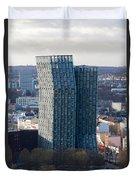 Dancing Towers Hamburg Duvet Cover