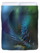 Dancing With The Wind-abstract Art Duvet Cover