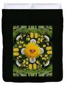 Dandelion Grove Mandala Duvet Cover