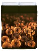 Dandelion Sparkles Duvet Cover