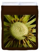 Dandelion With Seeds Duvet Cover