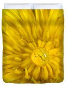 Dandelion With Waterdrop Duvet Cover