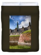 Danish Castle Kronborg Duvet Cover