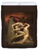 Dante And Virgil Duvet Cover
