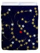 Dare To Be Different - Stars - Blazing Trails Duvet Cover