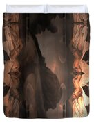 Dark Angel's Crossing Duvet Cover