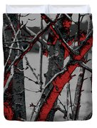 Dark Branches Duvet Cover
